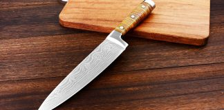 68Cr17 7Cr17 stainless steel kitchen knife