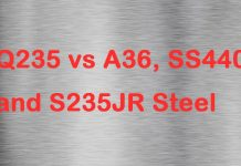 Q235 vs A36, SS440 and S235JR Steel