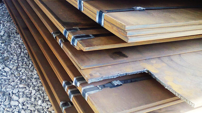q690 steel plate, steel flat, steel sheet