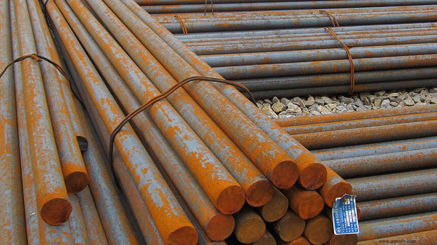 Steel bar made from Q215 steel