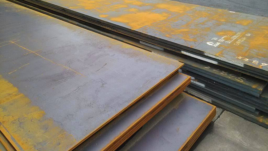 Steel plate made from Q235 steel